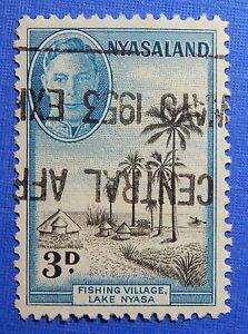 1945 NYASALAND 3d SCOTT# 72 S.G.# 148 USED CS20959