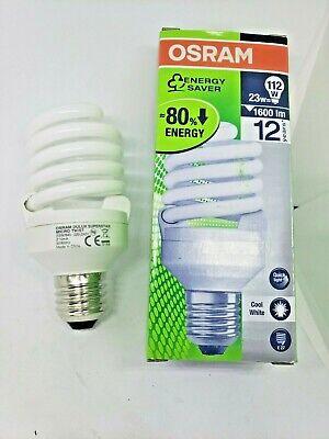 Osram Dulux Superstar Micro Twist 23W 4000K 220-240V Compact Fluorescent Bulb 4008321986399 | eBay