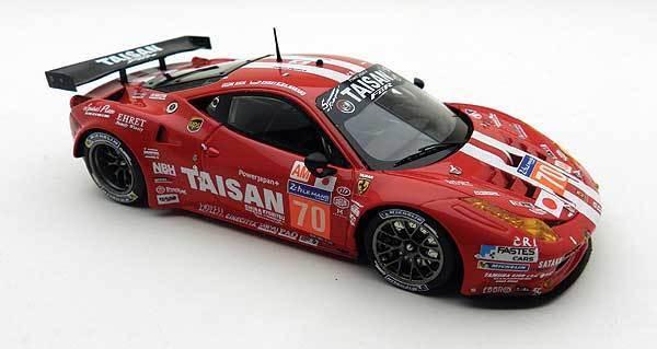 Ferrari 458 Italia Gt2 4.5L V8 Team Taisan Le Mans 2014 Nakano BBR 1 43 BBRC155