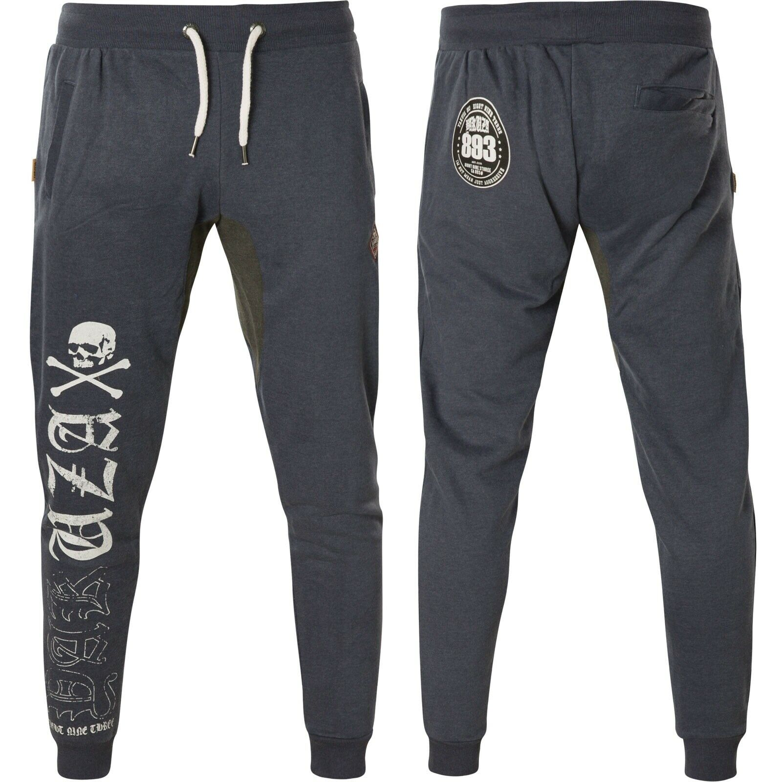 YAKUZA Jogginghose Hazard JOB-13048 Mood Indigo Blau Sweatpants Herren