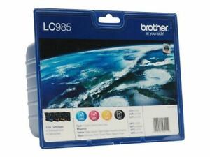 4-x-Brother-LC985-MultiPack-Value-MFC-J220-MFC-J265W-MFC-J410-MFC-J415W