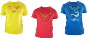 Pokemon-Go-T-Shirt-Team-Mystic-Valor-Instinct-Men-039-s-Kids