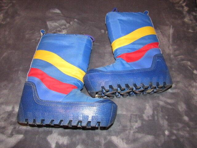 Vintage botas de de de Nieve Invierno Talla 5-6 Arco Iris forma agradable Original  descuento