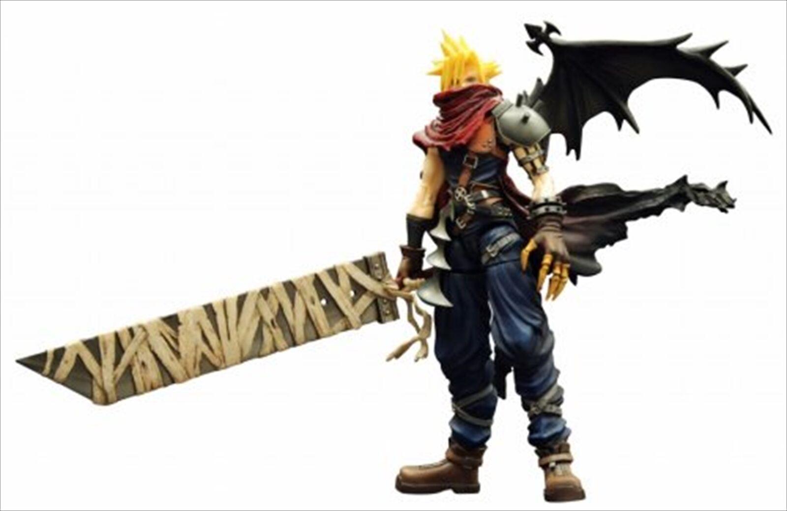 Square Enix Play Arts Vol. 2 Uni Cloud Strife coeurs Ver. Action Figure