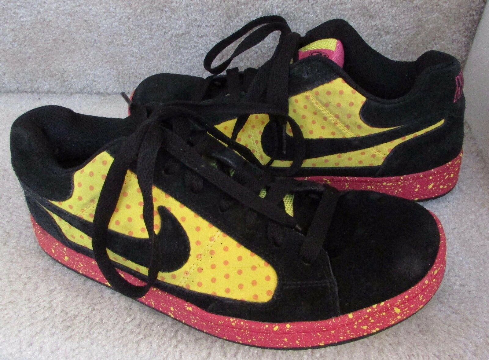 Nike 6.0 Swindle Lam Mens Sneakers Skateboard Shoes Size 9 Samples