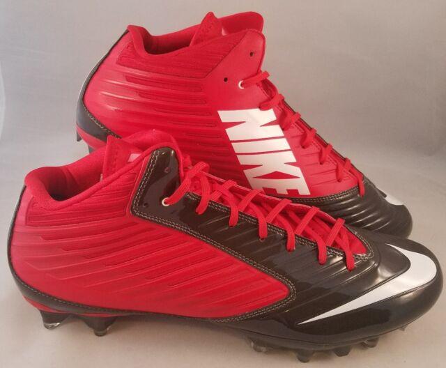 6899c5b7cd71 Nike Vapor Speed 3/4 TD Football Cleats Men's Size 15 Red Gray 668839-630  OSU for sale online | eBay