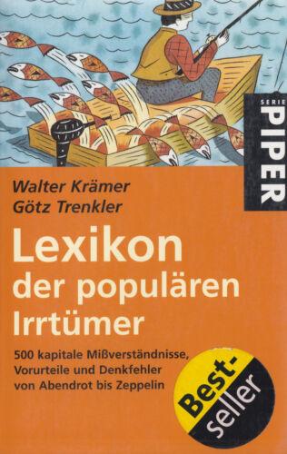 1 von 1 - pi- KRÄMER : LEXIKON DER POPULÄREN IRRTÜMER   2446
