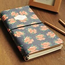 """Sacred Flower"" 1pc Planner Agenda Scheduler Travel Journal Pocket Notebook"