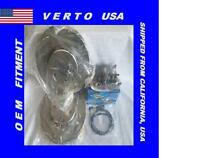 Verto Usa Set Of Front Brake Rotors Icer Pads & Sensor 34101 X 2 -d740 +s