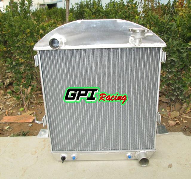 3core model-T chev Bucket ford GRILL SHELLS 1924-1927 HOTROD aluminum radiator