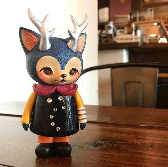 MORRIS Cat Antlers Kaori Hinata Fist of the North  estrella cifra Hinatique Rare  promozioni di squadra