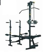 Home gym 20 in 1 bench  2*2 pipe size use for multi exercise