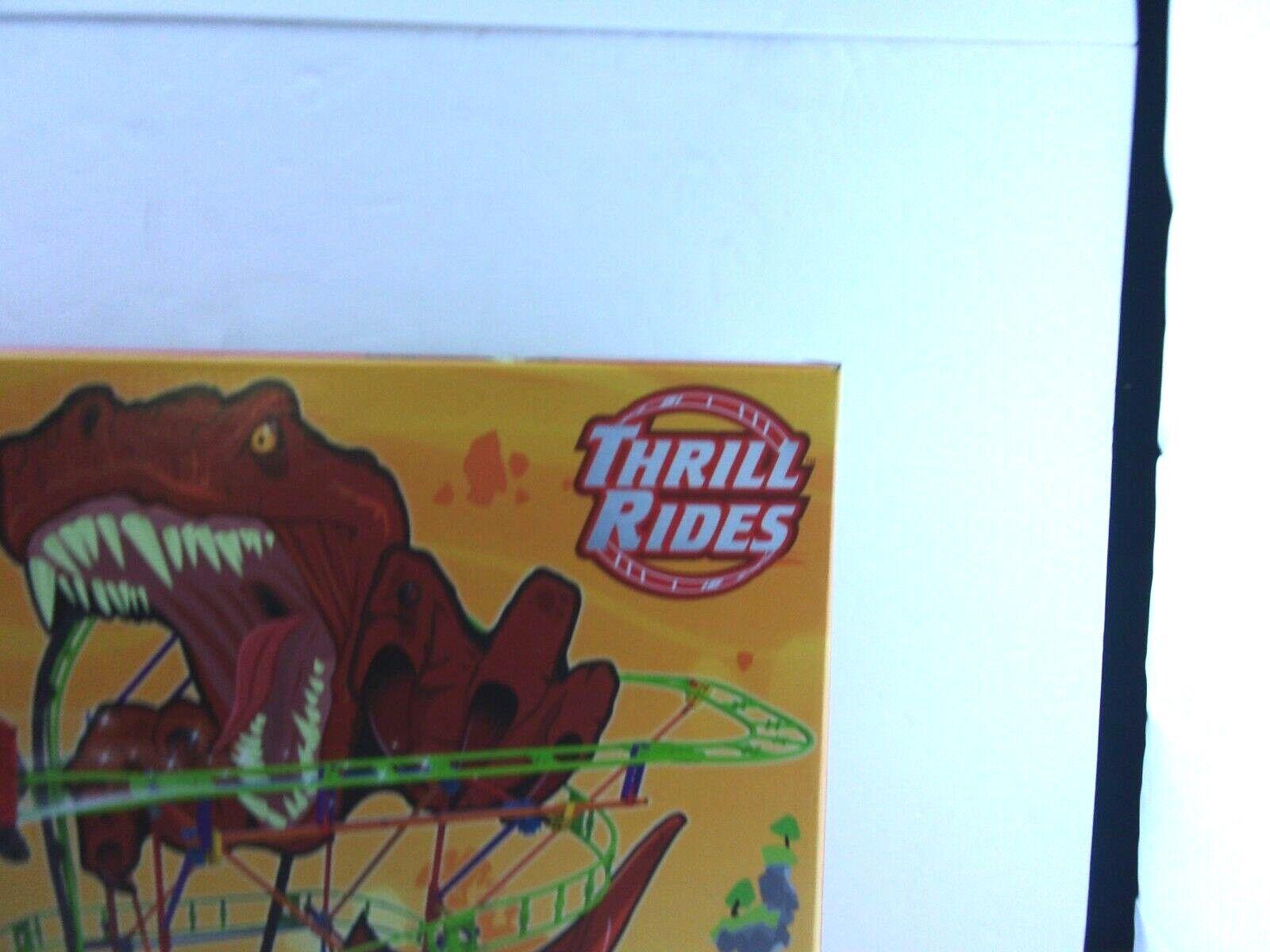 K'nex T-Rex Fury Thrill Rides Roller CoasterBuilding CoasterBuilding CoasterBuilding Set 473 PCS Build & Ride Ap 952976