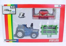Britains Ltd 1:32 FORD TW-25 + COIL PACKER & ACCORD SEEDER TRACTOR 9641 Set `89!