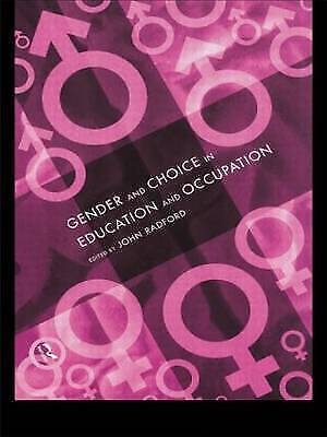 1 of 1 - Gender and Choice in Education and Occupation-ExLibrary