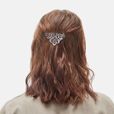 Lurrose Celtic Knot Haarspangen Kreative Haarschmuck Zöpfe Haarspange Clip mit