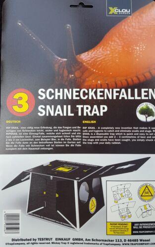 6 x Schneckenfallen Schneckenfalle Nacktschnecken Schneckenköder