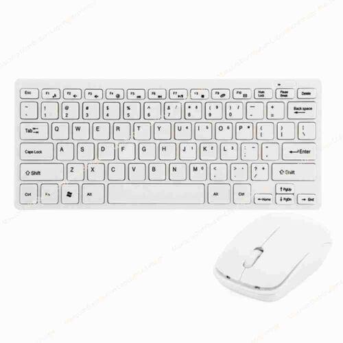 Wireless MINI Keyboard and Mouse Set for Mac Mini MD388 Desktop WT HS