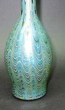 "Superb & Rare 9.75"" LOETZ PHANOMEN Bohemian Art Glass Vase  c. 1902  antique"