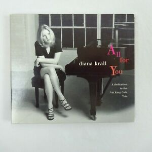 Diana Krall Cd All For You A Dedication To The Nat King Cole Trio Ebay