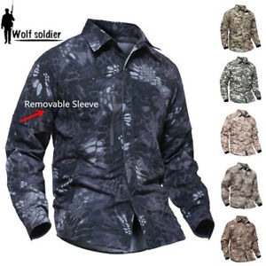Army-Tactical-Mens-Combat-Shirt-Military-Long-Sleeve-Casual-Shirts-Camouflage
