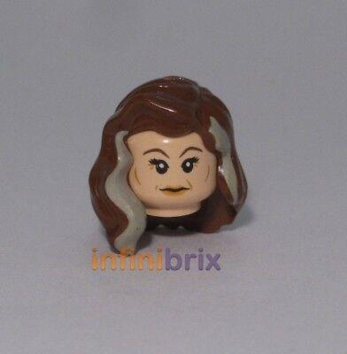 capelli pezzo da 4865 Set per Harry Potter Nuovo di Zecca LEGO Narcissa Malfoy Testa