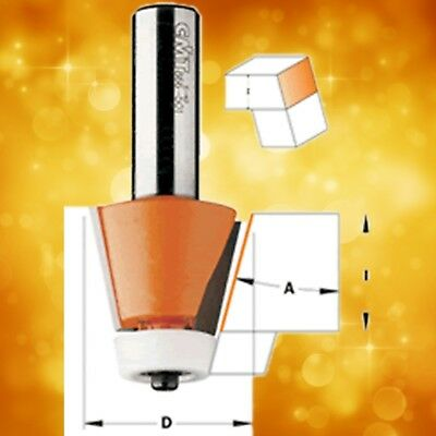 2-Inch Diameter CMT 866.602.11 Solid Surface Rounding Over Bowl Router Bit W//Bearing 1//2-Inch Shank
