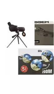 Bresser Spotting 360° rotatable Scope 20x – 60 x 60 in soft carry case - Black