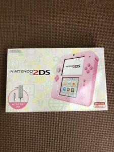 Nintendo-2DS-Console-System-Pink-FTR-S-PBAA-NTSC-J-Handheld-System-JP
