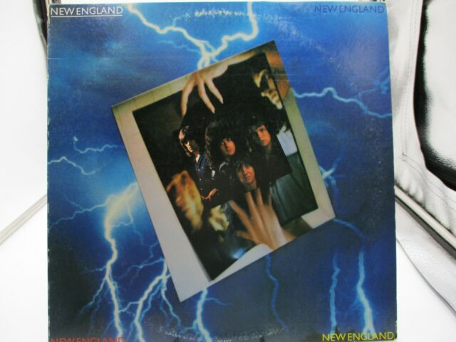 New England – New England -1979 Infinity Records INF 9007 Sterling LP VG+ c VG+