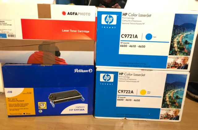 hp color 4mal Set c9720a , c9721a, c9722a