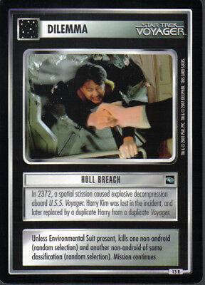STAR TREK CCG WHITE BORDER PREMIERE 1995 BETA RARE CARD DEANNA TROI