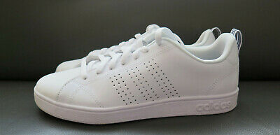 WOMENS ADIDAS NEO ADVANTAGE CLEAN VS W WHITE SNEAKERS TENNIS SHOES 8.5 / 9