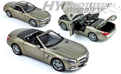aquí tiene la última Norev 1 18 2012 2012 2012 Mercedes-Benz SL500 DIE-CAST gris 183590  hasta 60% de descuento