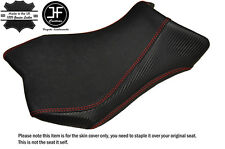 GRIP & CARBON DESIGN RED ST CUSTOM FITS YAMAHA YZF R 125 08-15 FRONT SEAT COVER