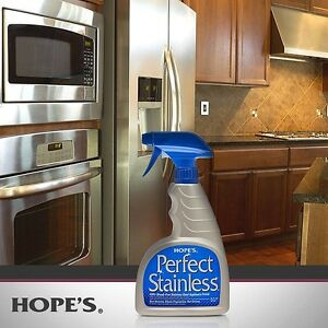 Image Is Loading Hope 039 S Perfect Stainless Steel Liance Polish