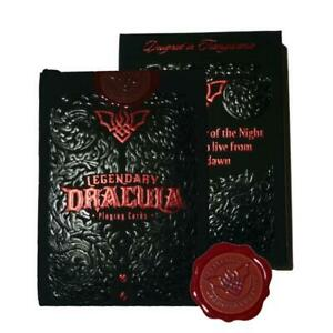 Legendary-Dracula-Playing-Cards-Rare-Only-250-Printed-Gold-Gilded