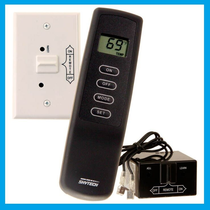SKYTECH SKY-1001TH-A Fireplace Remote Control with Thermostat FREE USA SHIP