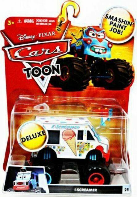 Disney Pixar Cars Toon I Screamer 25 Monster Truck Mater For Sale Online Ebay