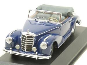 Minichamps-MIN-032331-Mercedes-Benz-300-S-Cabriolet-1951-55-Blue-1-43-Scale