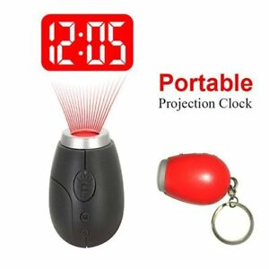 Tiny-Mini-Creative-Digital-Clock-Projection-Clock-LCD-Projector-With-Key-Ring