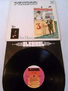 TIM-DAWE-PENROD-LP-EX-RARE-ORIGINAL-STRAIGHT-CANADA-STS-1058-ZAPPA-BUCKLEY