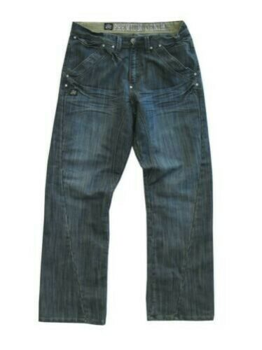 Mc Kart KAM Mens Big Size Relaxed Fit Fashion Soft Cotton Jeans
