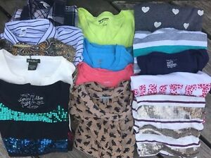 TEN-10-POUNDS-WOMEN-039-S-CLOTHING-SHIRTS-TOPS-WORK-Jeans-ASSORTED-SIZES-VARIETY