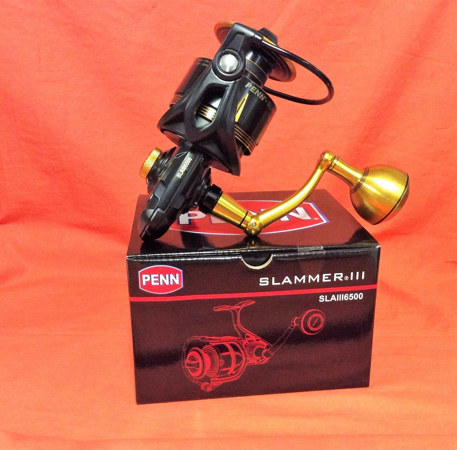 PENN Slammer III 6500 Spinning Reel Gear Ratio 5.6:1  1403985 (SLAIII6500)
