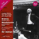 Brahms: Symphony No. 4; Mendelssohn: Symphony No. 4 (CD, Jan-2013, ICA Classics)
