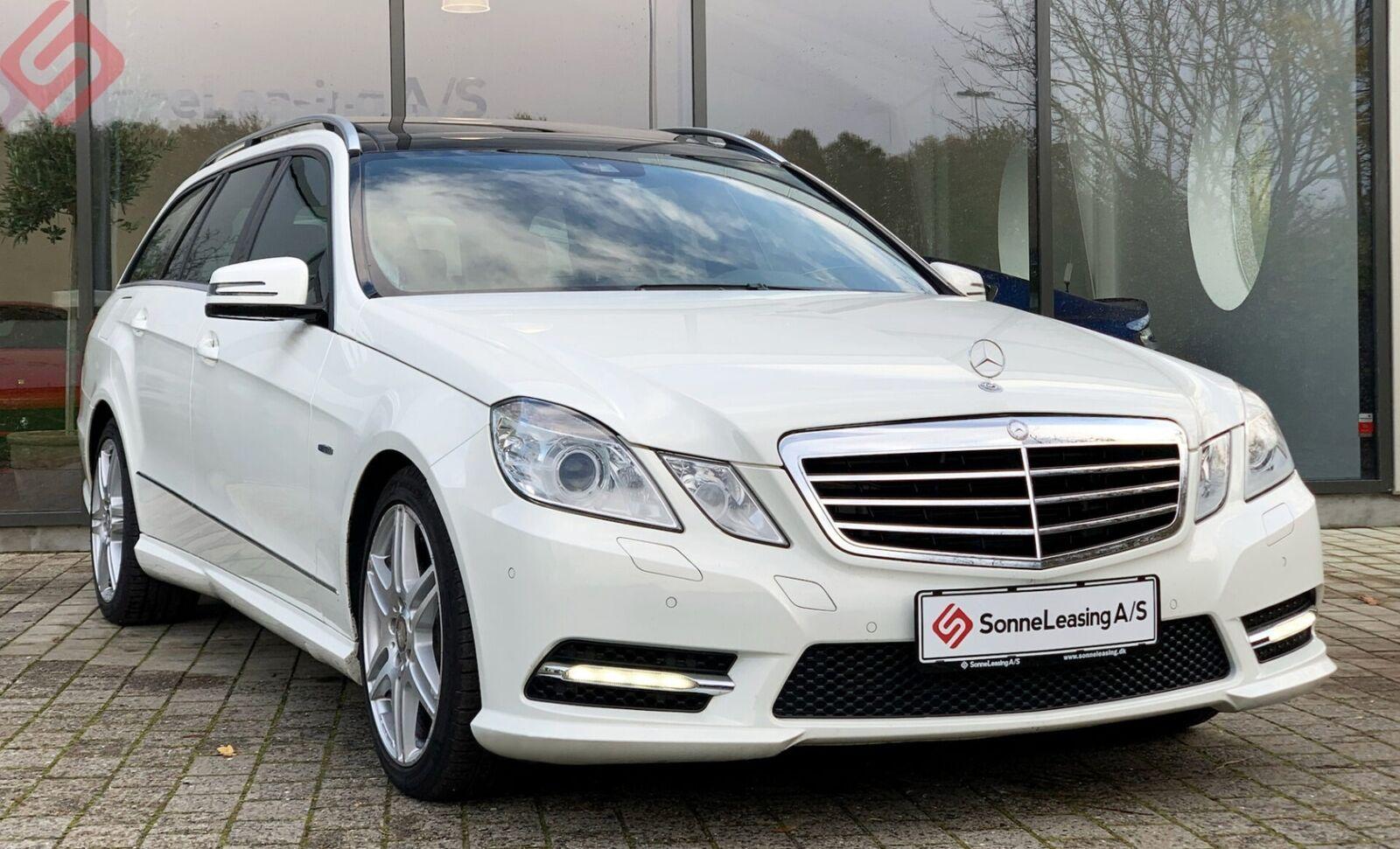 Mercedes E350 3,0 CDi Avantgarde stc aut 4-M BE 5d - 2.396 kr.