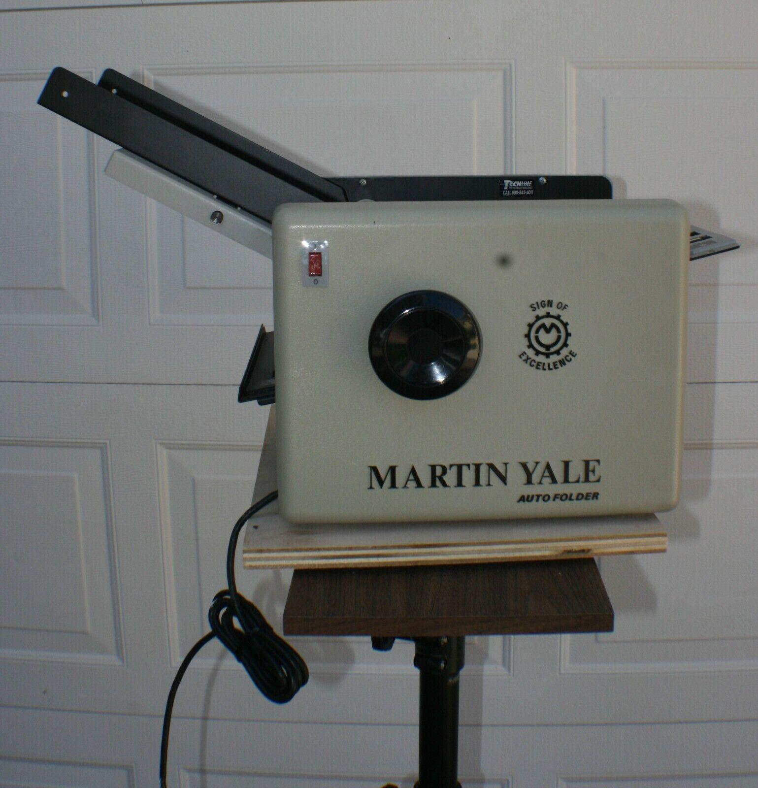 Martin Yale 1501x0 Automatic Paper Folder Auto Folding Machine 1501x 1501 For Sale Online Ebay
