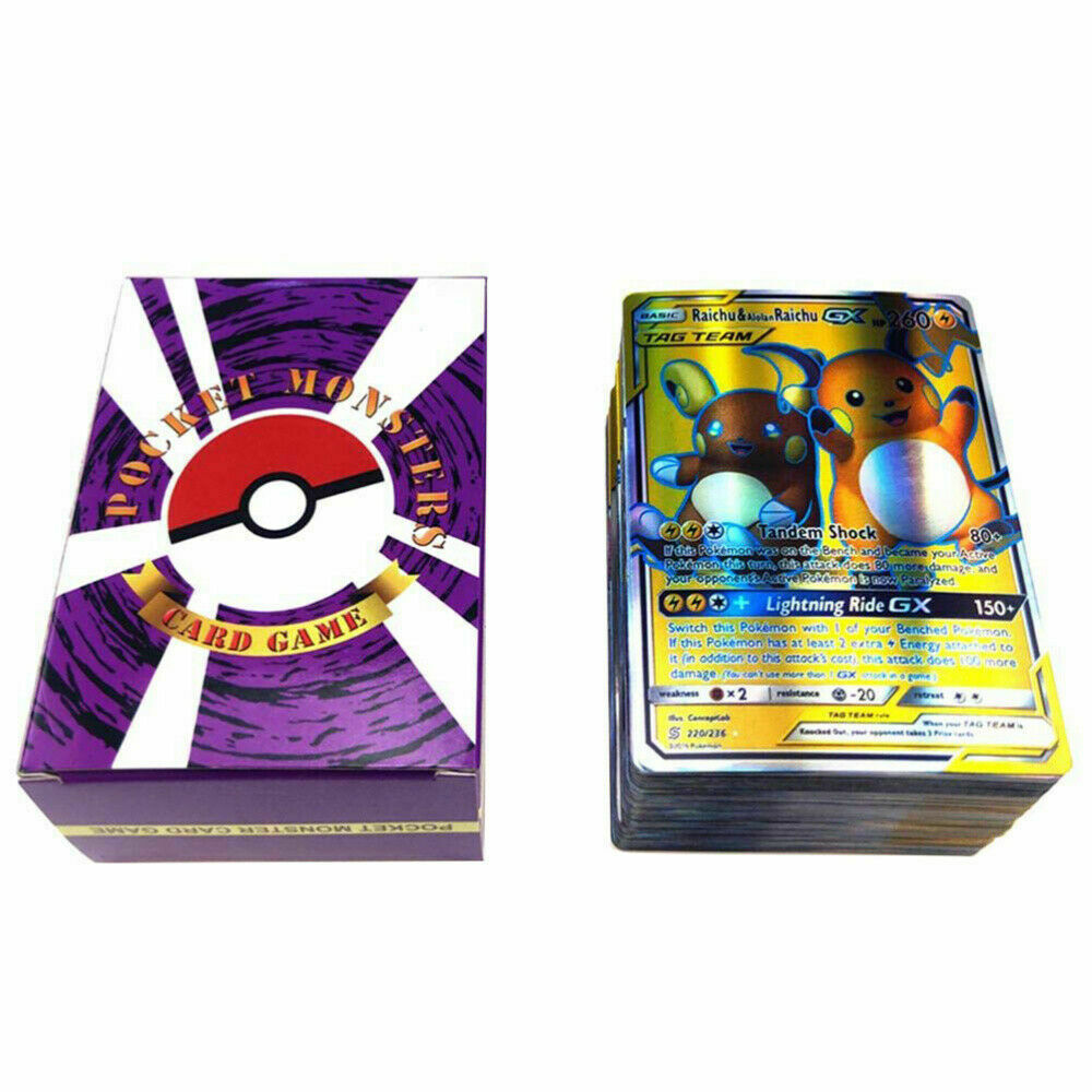 Pokemon Cards170gx+10trainer+20energy Booster Box English Edition Break Point UK