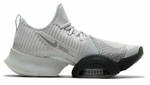 Nike-Herren-Sport-Fitness-Freizeit-Schuhe-Workoutschuhe-Air-Zoom-SuperRep-grau